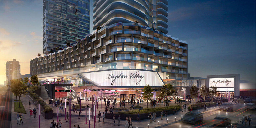RENDERING OF RENOVATED bayview village: QUADREAL